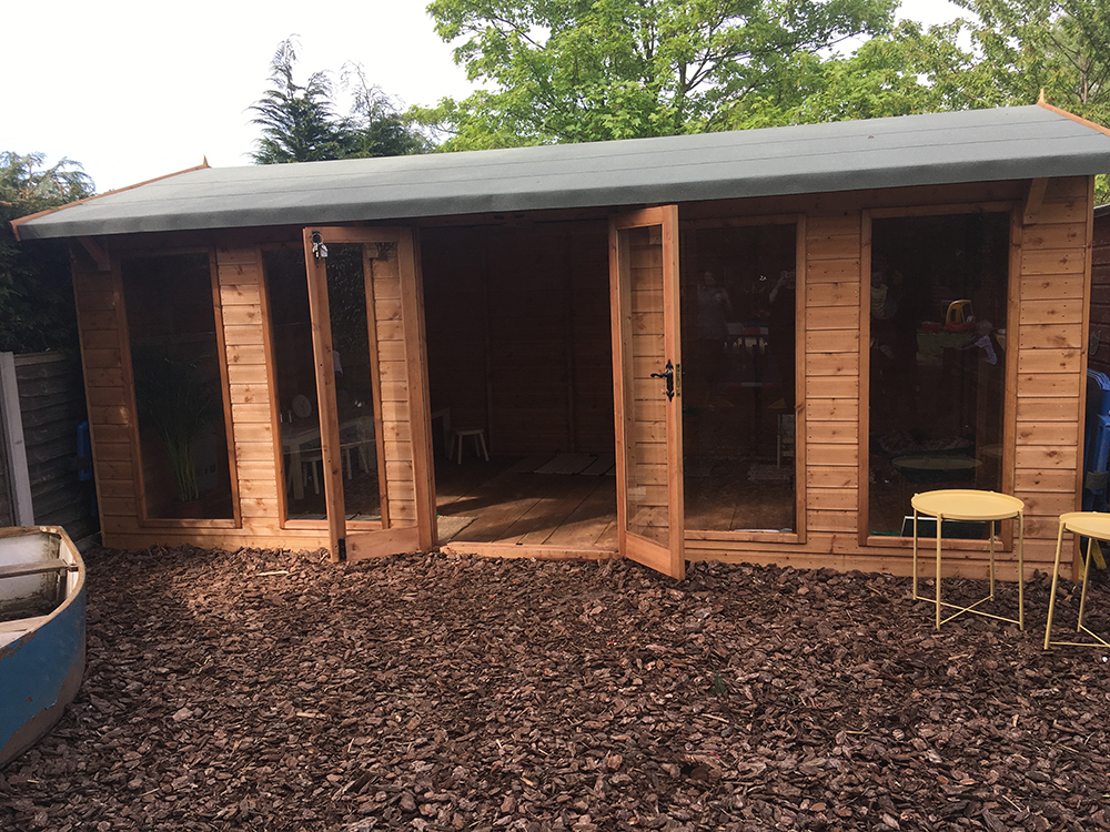 Outdoor Classroom by Little Miss Early Years