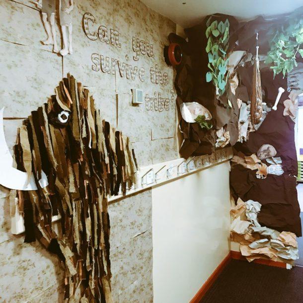 Stone Age classroom Display