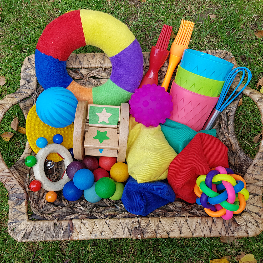 Treasure baskets and provocations