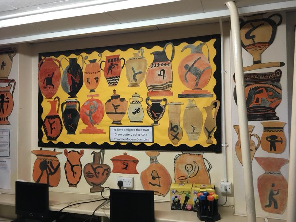 classroom display ideas - ancient greece