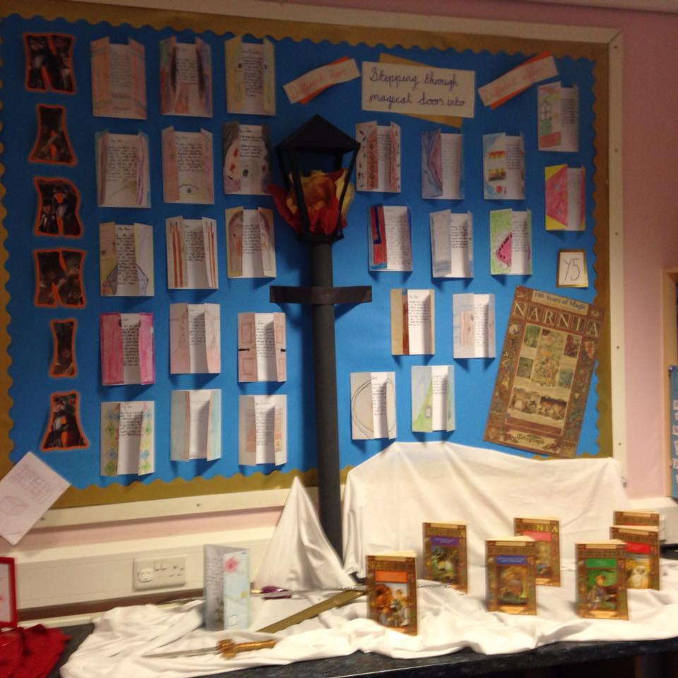 classroom display narnia