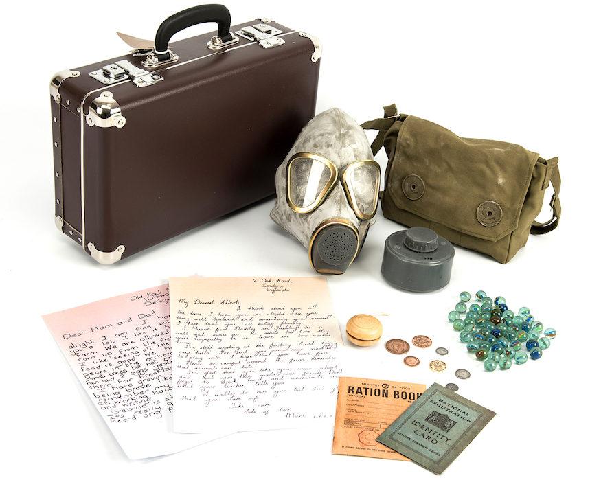 evacuee suitcase - lesson starter
