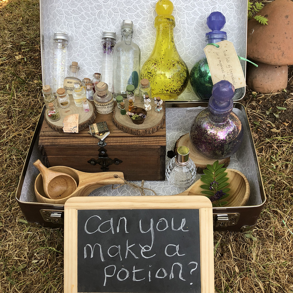 magical provocations in a suitcase by Lottie makes