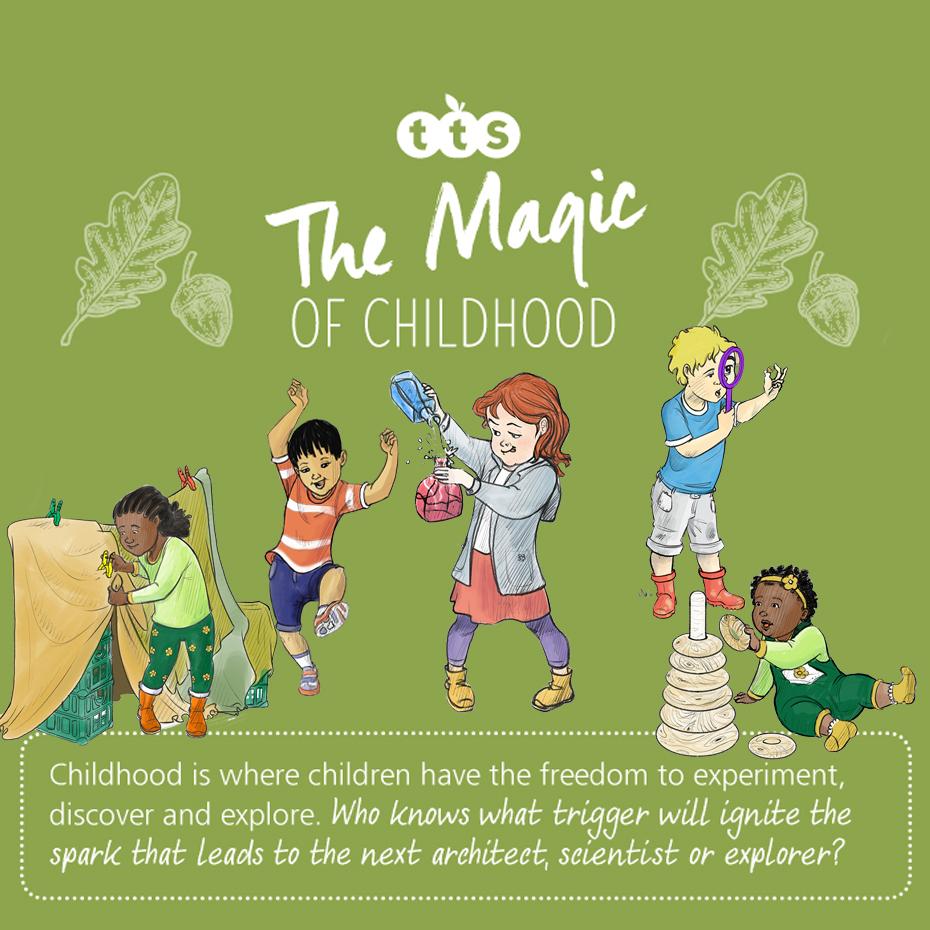 The magic of childhood