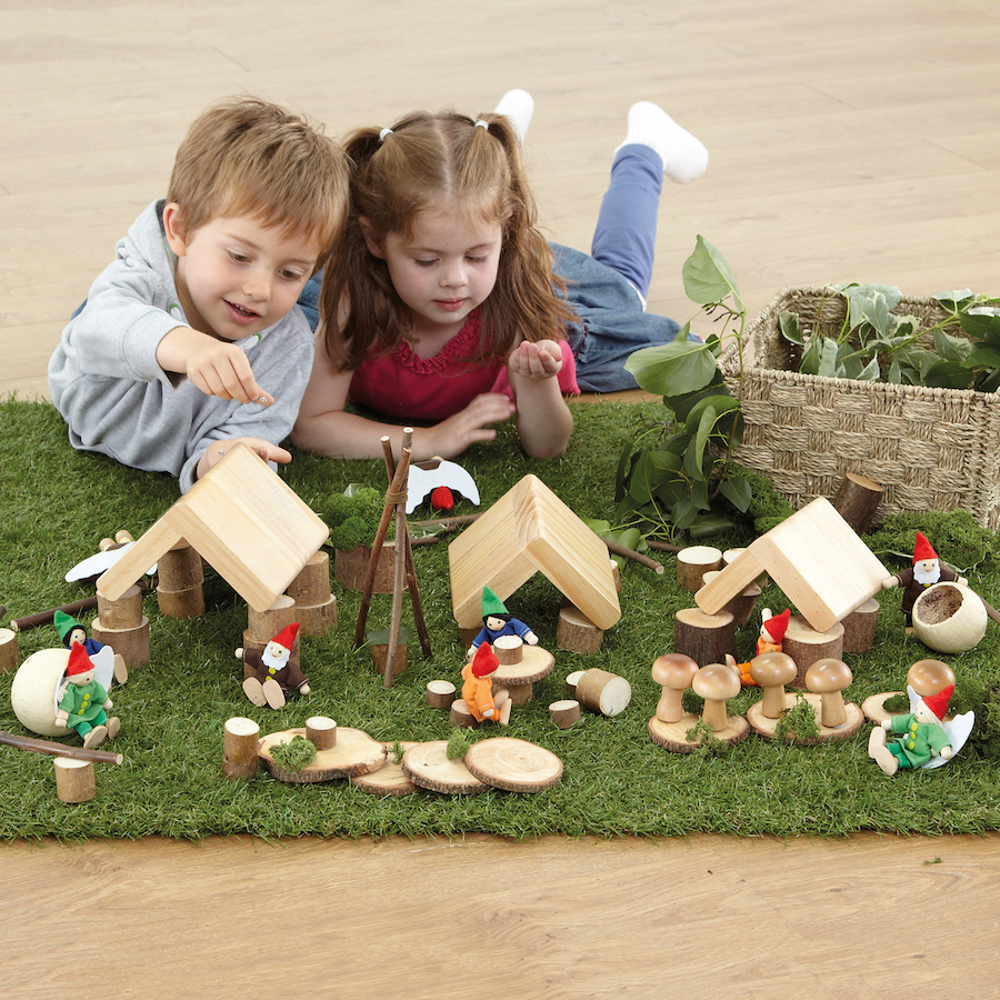 Small World Fairy Village Construction Set