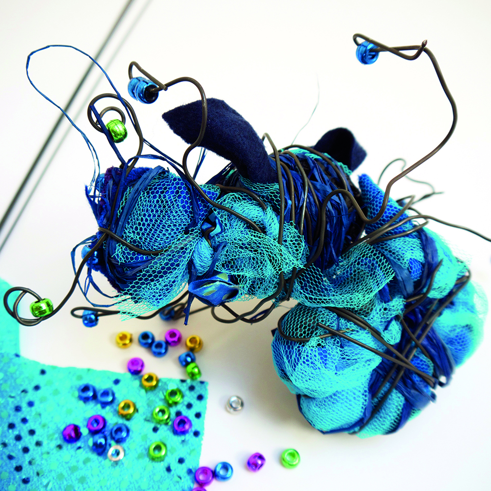 How to make a 3D Wire Insect model