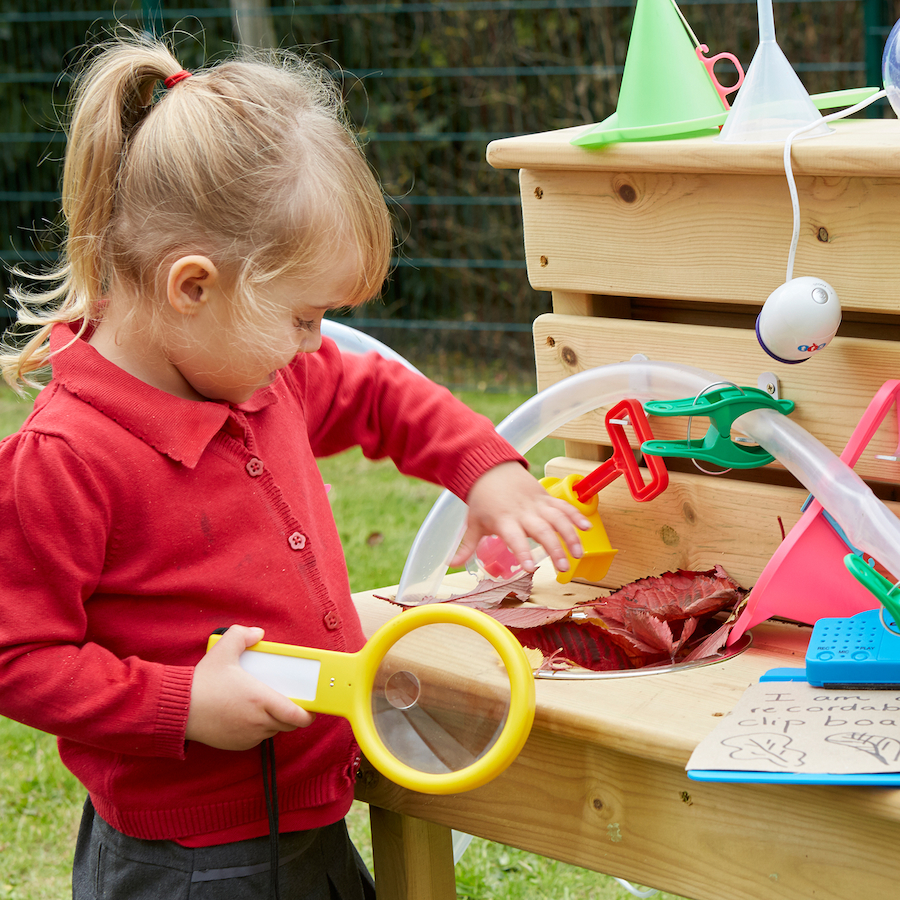The importance of STEAM in outdoor play