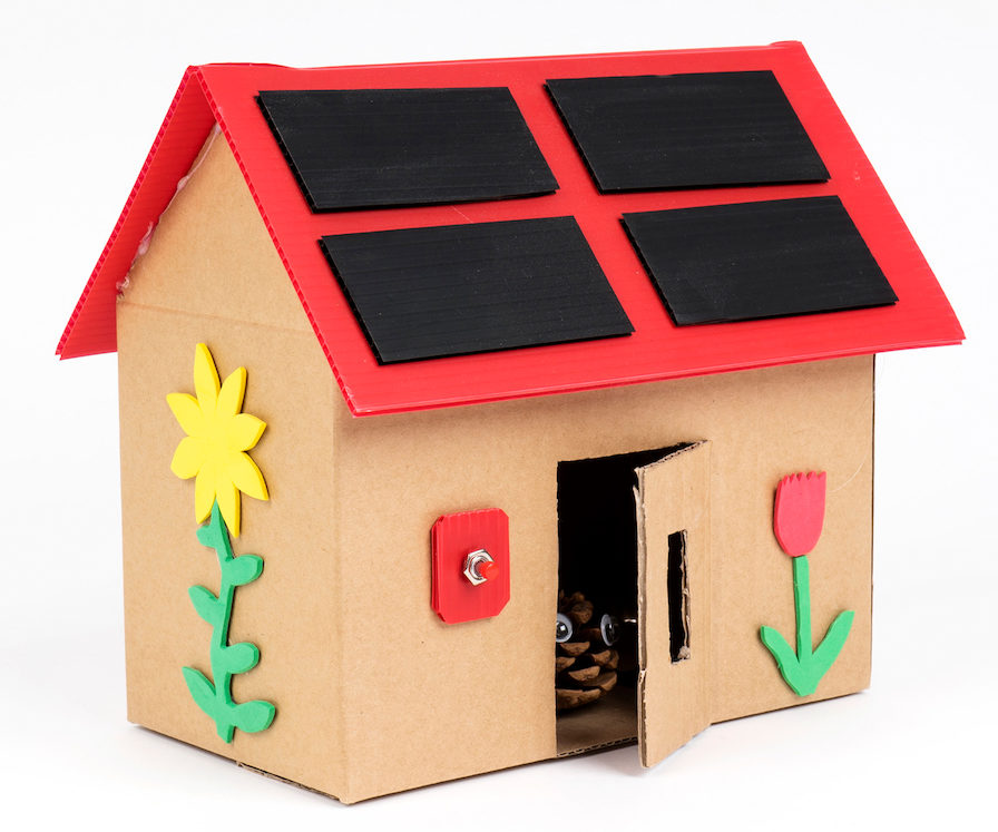 How to Build-a-House STEM class kit