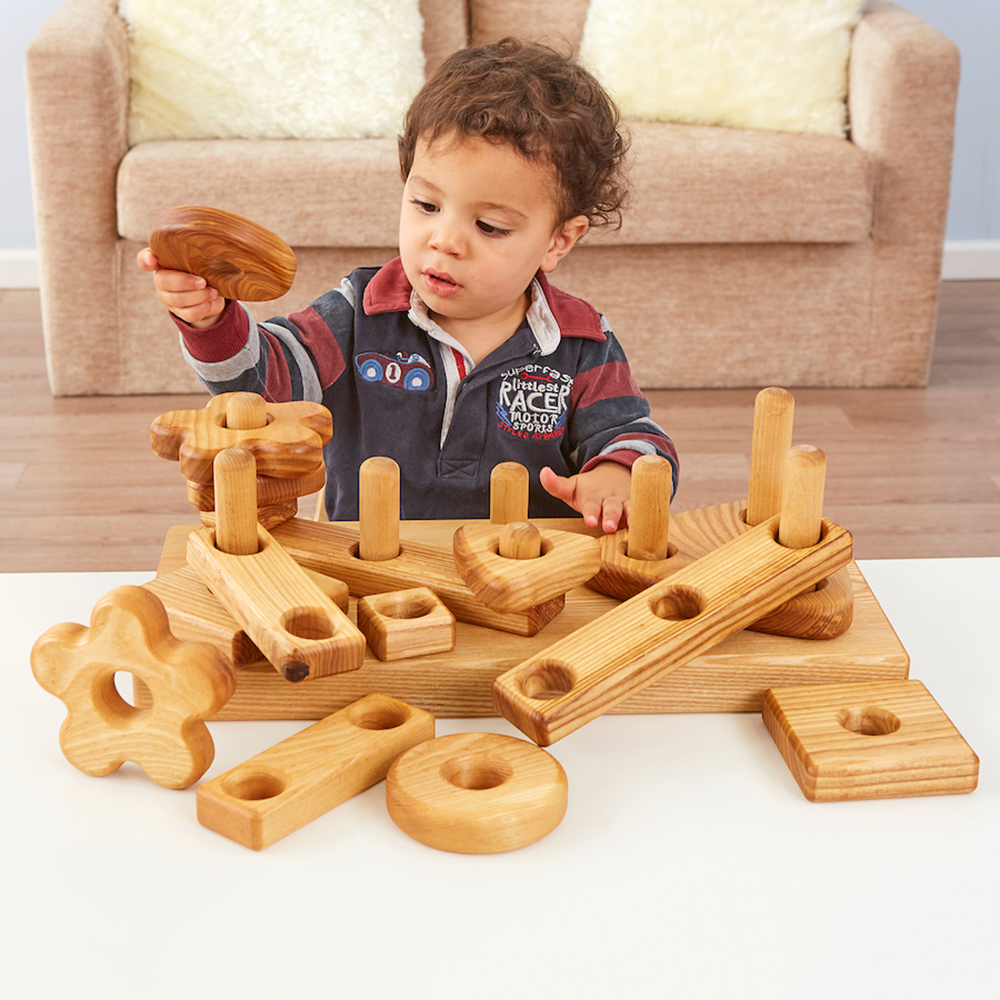 Invigorate children's construction with loose parts play