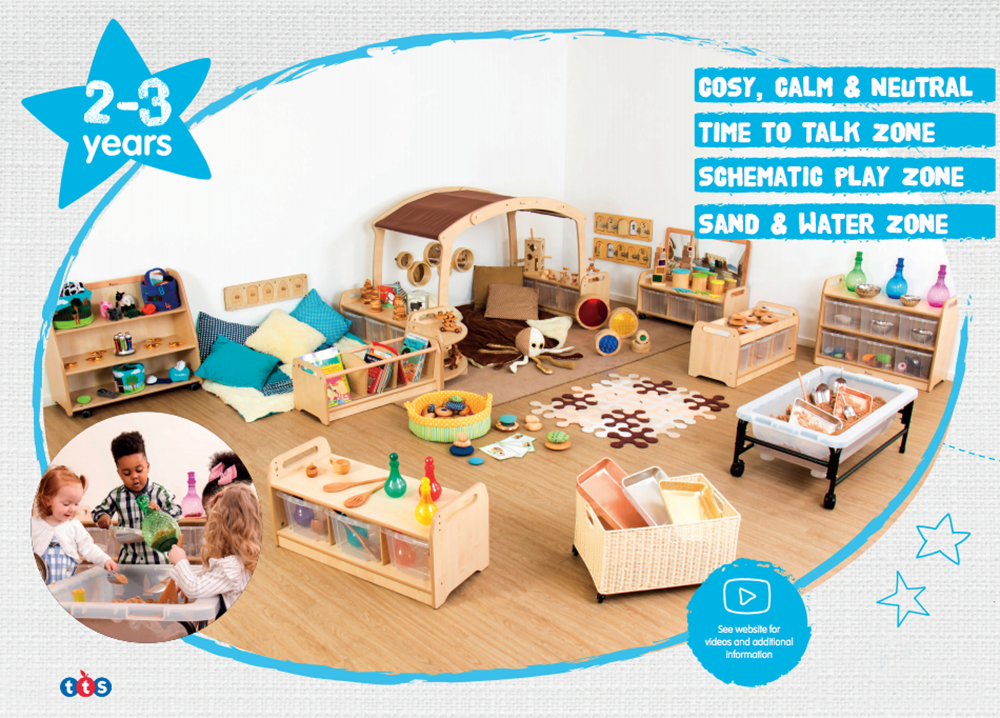 Inspiring Early Years environments - 2 to 3 years