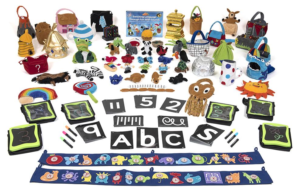 Inspiring Early Years environments - Communication & Mark Making Zone