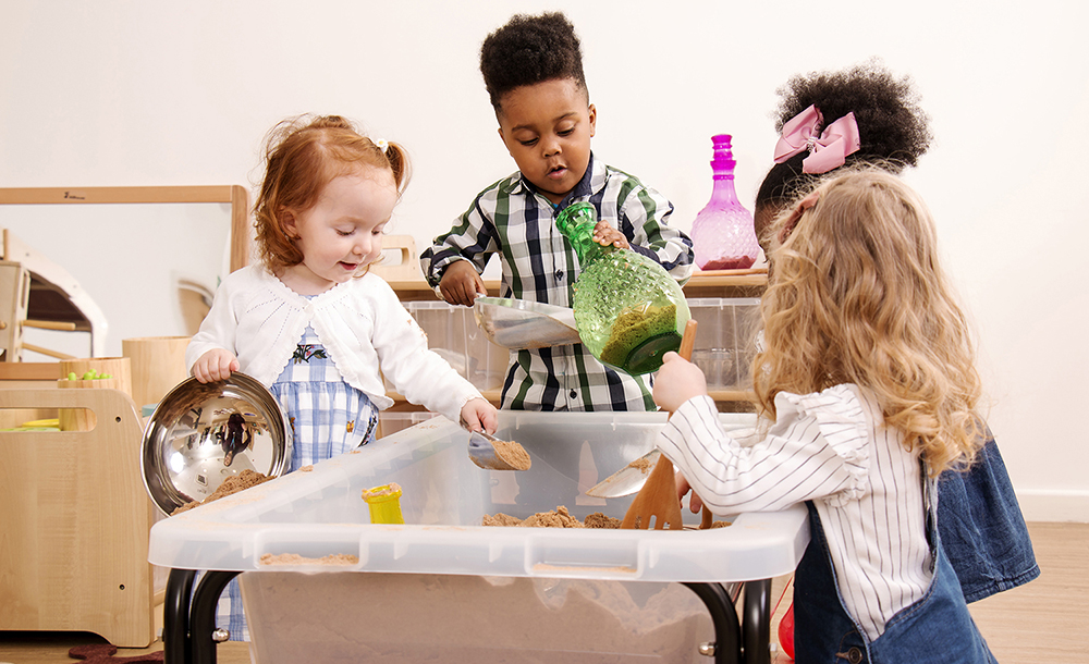 Inspiring Early Years environments - Sand & Water Zone