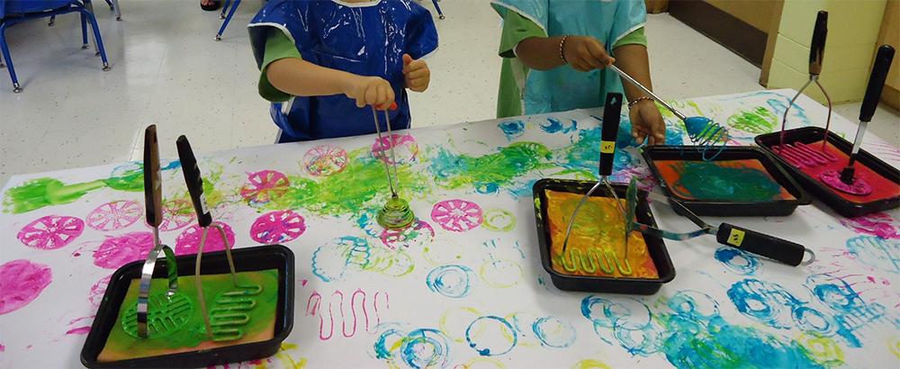 Magnificent, Messy Mashers at Trinity Preschool