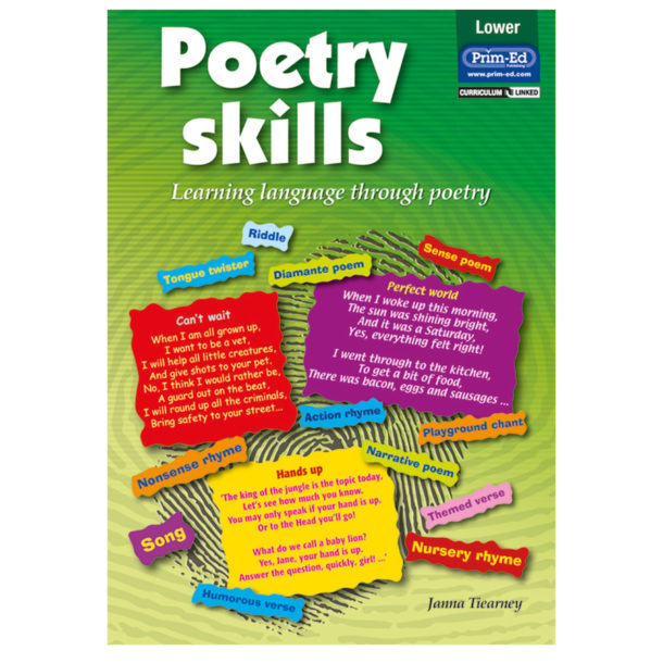 Poetry skills book by Janna Tiearney